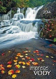 Imprese vody - nástěnný kalendář 2014