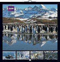 Kalendář 2014 - Frozen Planet - nástěnný poznámkový