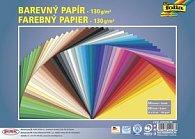 Barevný papír měkký 130g/m2