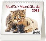 Kalendář stolní 2018 - MiniMax/Mazlíčci