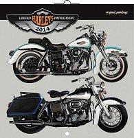 Kalendář 2014 - Harleys Libero Patrignani - nástěnný poznámkový (ANG, NĚM, FRA, ITA, ŠPA, HOL)