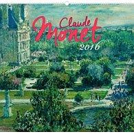 Kalendář nástěnný 2016 - Claude Monet,  48 x 46 cm