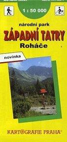 Západní Tatry, Roháče    KART.