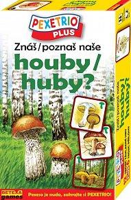 Pexetrio - Znáš naše houby?