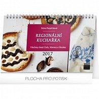 Kalendář stolní 2017 - Regionální kuchařka