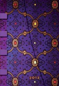 Diář French Ornate Violet 2012