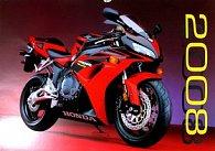 Motorky 2008 - nástěnný kalendář