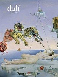 Kalendář nástěnný 2012 - Salvador Dalí, 50 x 66 cm