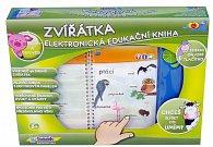 I-book Zvířátka-  naučná elektronická kniha 19x21x1,5cm česky mluvící v krabičce