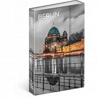 Diář 2017 - Berlín - týdenní
