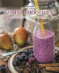 Zimní smoothies svěží, zdravá, smetanová, teplá
