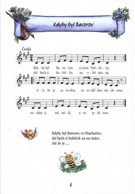 Náhled Písničky pro kluky a holčičky