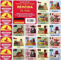 Najdi dvojici Němčina - 15. Svět