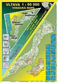 Vltava 1 : 50 000 Šátek s mapou