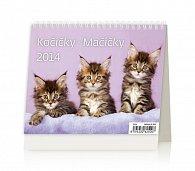 Kalendář 2014 - MiniMax Kočičky - stolní