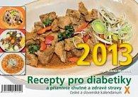 Recepty pro diabetiky X - stolní kalendář 2013