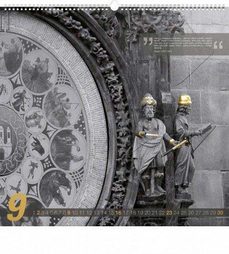 Náhled Kalendář nástěnný 2018 - Zlatá Praha