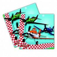 Papírové ubrousky 33x33 cm Planes