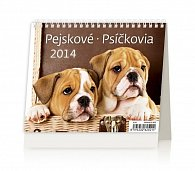 Kalendář 2014 - MiniMax Pejskové - stolní