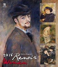 Kalendář nástěnný 2016 - Renoir - WOMEN/Exklusive