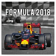 Kalendář poznámkový 2018 - Formule – Jiří Křenek, 30 x 30 cm