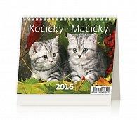 Kalendář stolní 2016 - MiniMax - Kočičky