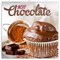 Kalendář poznámkový 2017 - Čokoláda, voňavý