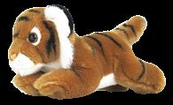 Tygr hnědý plyšový 25 cm