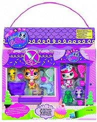 Littlest Pet Shop 4 zvířátka s doplňky a přenosným balením
