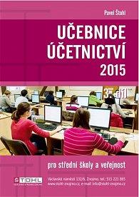 Učebnice Účetnictví III. díl 2015