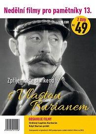 Nedělní filmy pro pamětníky 13. - Vlasta Burian - 2 DVD pošetka