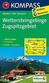 Wettersteingebirge,Zugspitzgebiet 5 / 1:50T NKOM