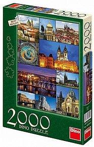 Praha - Puzzle 2000