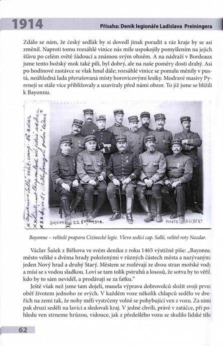 Náhled Přísaha - Deník legionáře Ladislava Preiningera