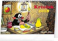 Kalendář stolní 2018 - Krteček, 23,1 x 14,5 cm
