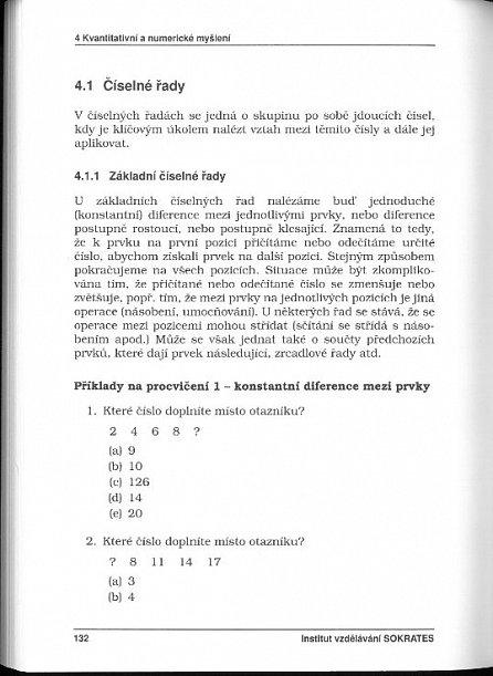 Náhled Testy obecných studijních předpokladů a základy logiky - 1. díl - 11. vydání