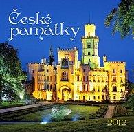 Kalendář 2012 - České památky - nástěnný