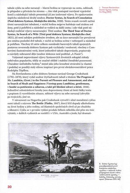 Náhled Před komiksem - Formování domácího obrázkového seriálu ve 2. polovině XIX. století