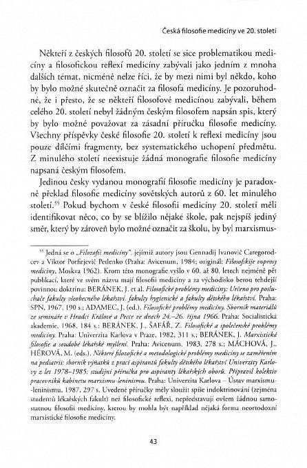Náhled Filosofie medicíny v českých zemích