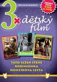 3x DVD - Dětský film