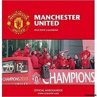 Kalendář 2015 stolní - FC Manchester United (160x175)