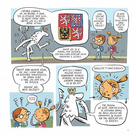 Náhled Můj stát - Putování s českým lvem za sedmi státními symboly