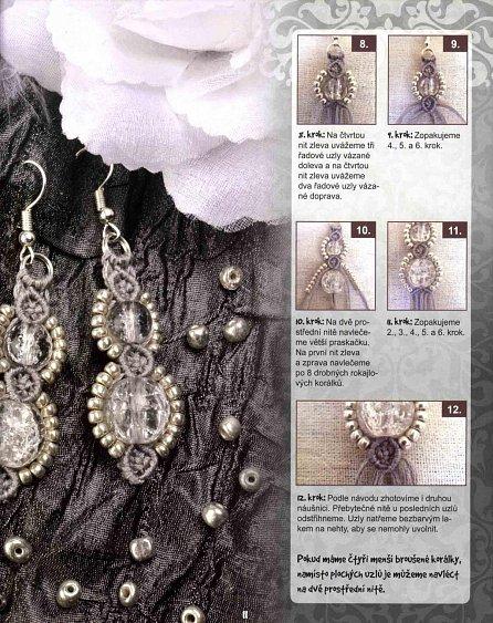 Náhled Trendove šperky vázané technikou makramé - náušnice * náramky * náhrdelníky