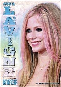 Kalendář 2012 - Avril Lavigne