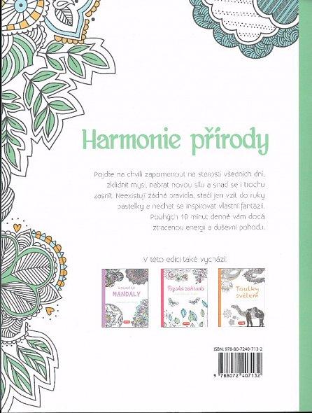 Náhled Harmonie přírody - Omalovánky pro dospělé