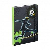 Desky na sešity A4 - Fotbal
