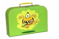 Kufřík Příšerka zelený 30 cm