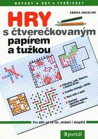 Hry s čtverečkovaným papírem a tužkou