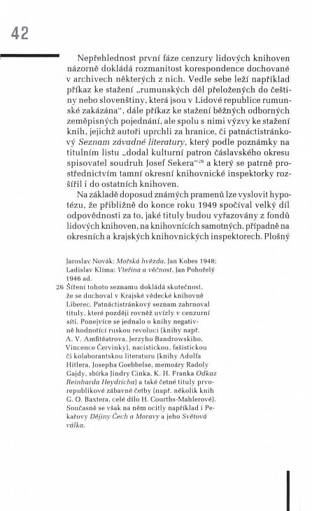 Náhled Soustružníci lidských duší - Lidové knihovny a jejich cenzura na počátku padesátých let 20. století (s edicí seznamů zakázaných knih)