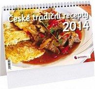 České tradiční recepty 2014 - stolní kalendář